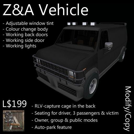 Z&A Vehicle (Van)