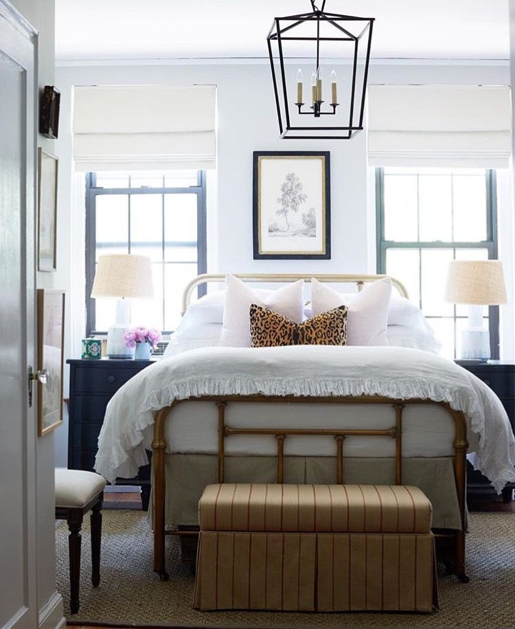 Modern Bedroom With Lantern Light Home Bedroom Apartment