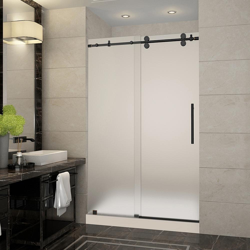 Oil Rubbed Bronze Frameless Sliding Shower Doors Http