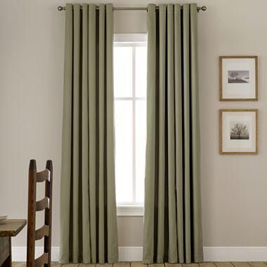 Linden StreetTM Thermal Grommet Top Curtain Panel