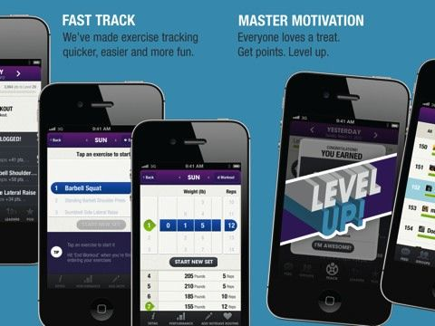 Facebook + Pinterest + GameCenter + your workouts equal the Fitocracy fitness iPhone app