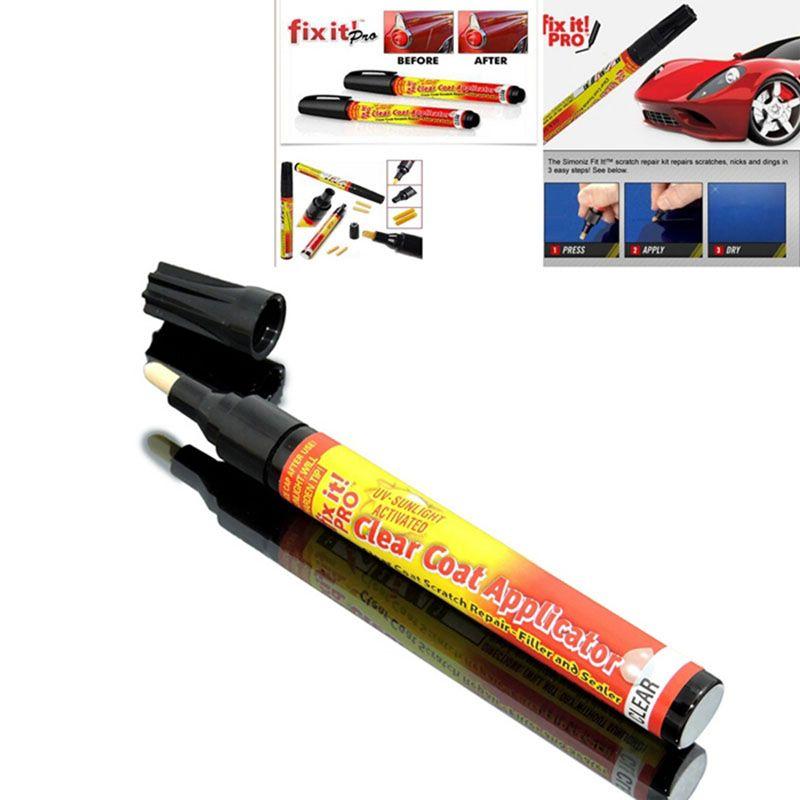 Nouveau Fix It Pro Reparation Eraflure De Voiture De Solvant De Reparation Peinture Stylo Simoniz Clear Coat Applicateur Pour Hyundai Toyota Voiture Reparation