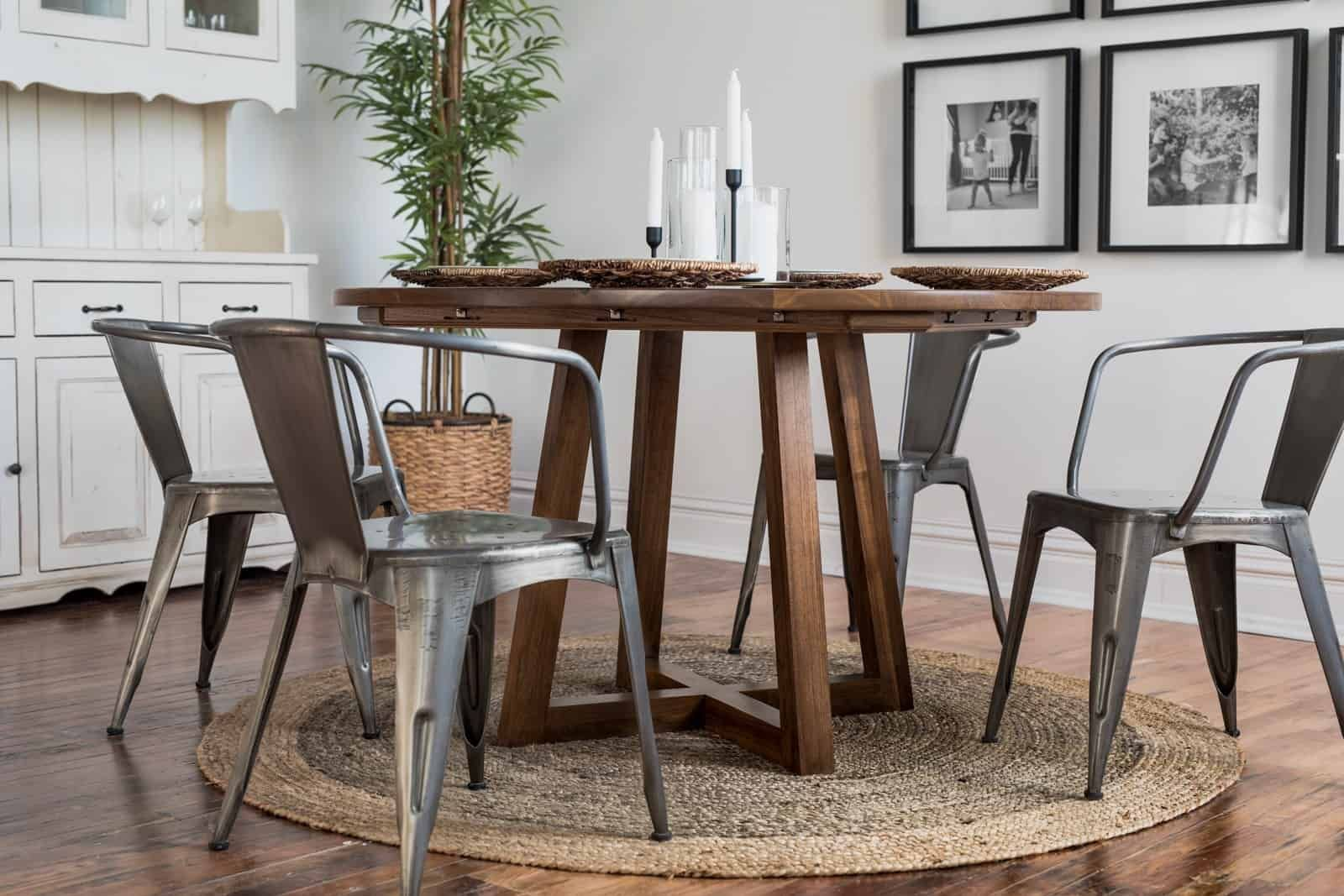 Ward Round Table Hand Made Dining Table From Kansas City Pub