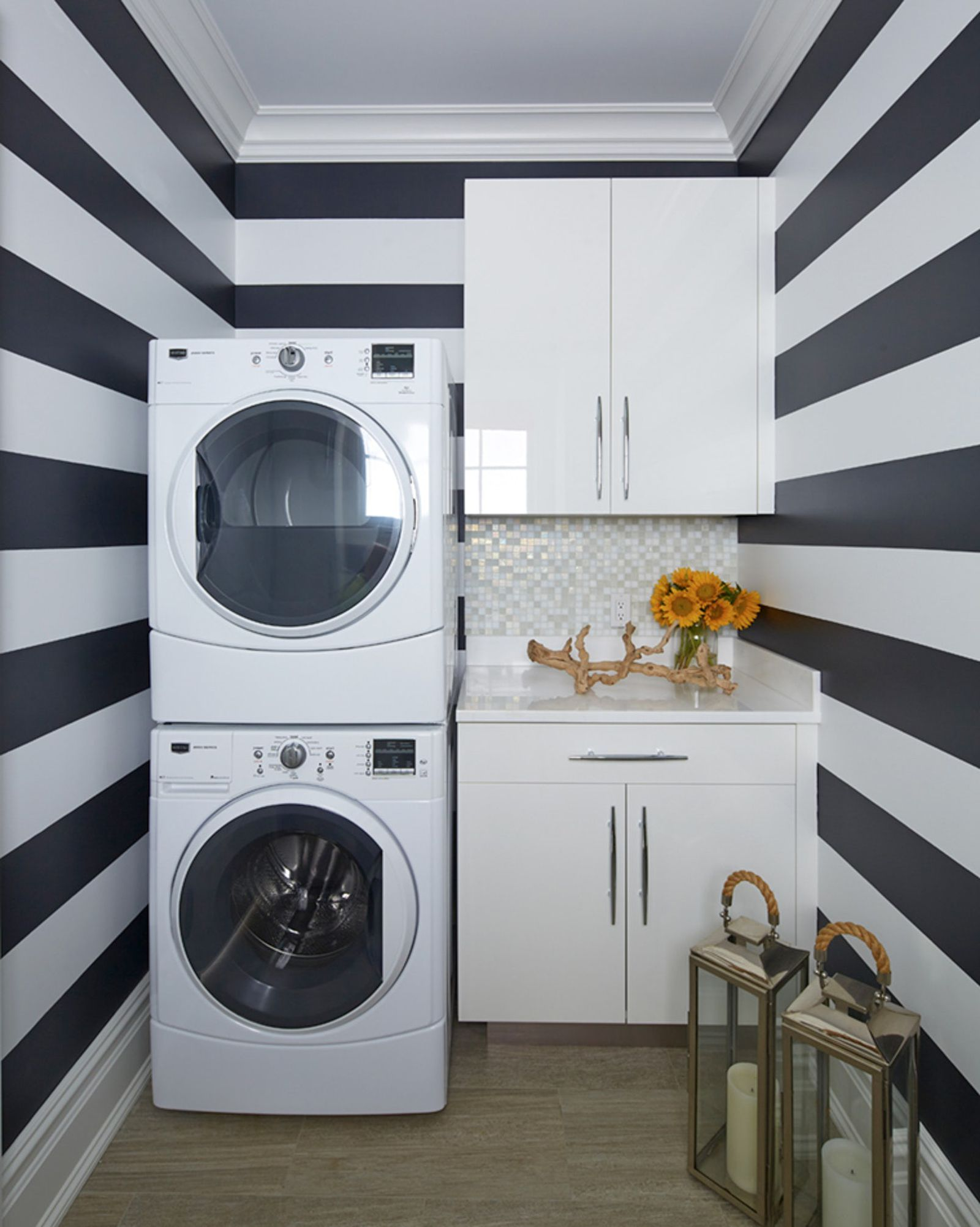 15 brilliant design ideas for small laundry rooms small on extraordinary small laundry room design and decorating ideas modest laundry space id=62134