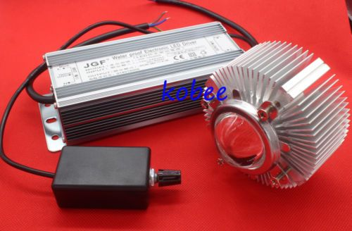 100w 100 Watt Dimmable Waterproof Led Driver Lens Reflector Heatsink Cooler Waterproof Led Led Drivers Led
