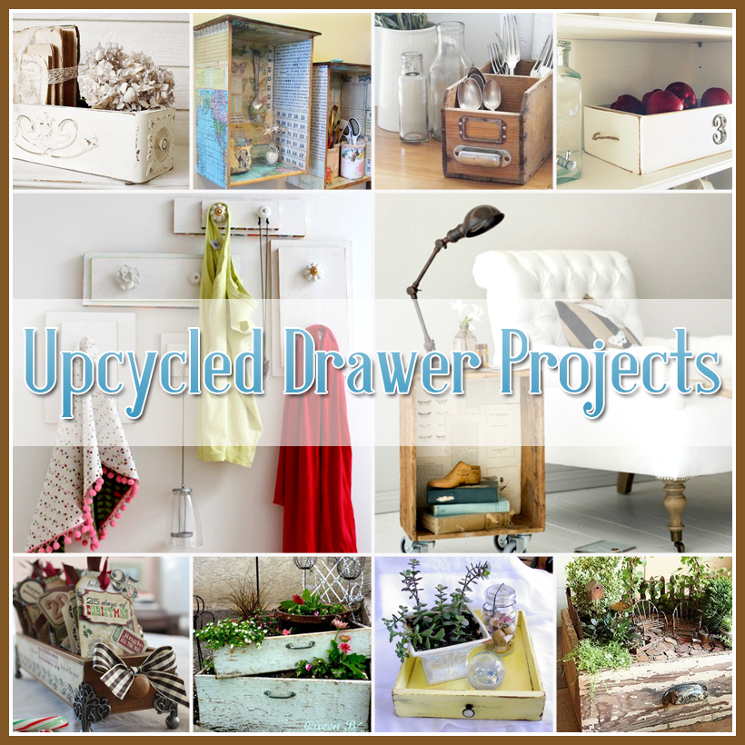 Upcycled Drawer Projects For The Home Diy Furniture