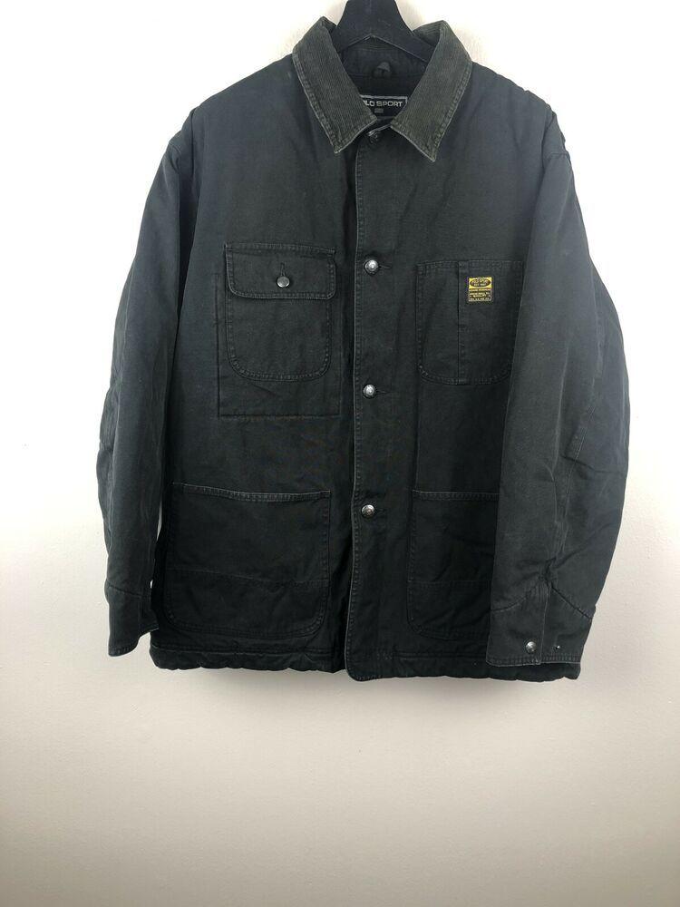 Vintage Polo Sport Ralph Lauren Sportsman Work Jacket Size