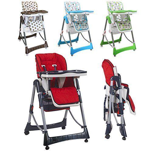 Monsieur Bebe Chaise Haute Enfant Pliable Reglable Hauteur Dossier Et Tablette 4 Coloris Norme Nf En Chaise Haute Enfant Chaise Haute Chaise Haute Bebe