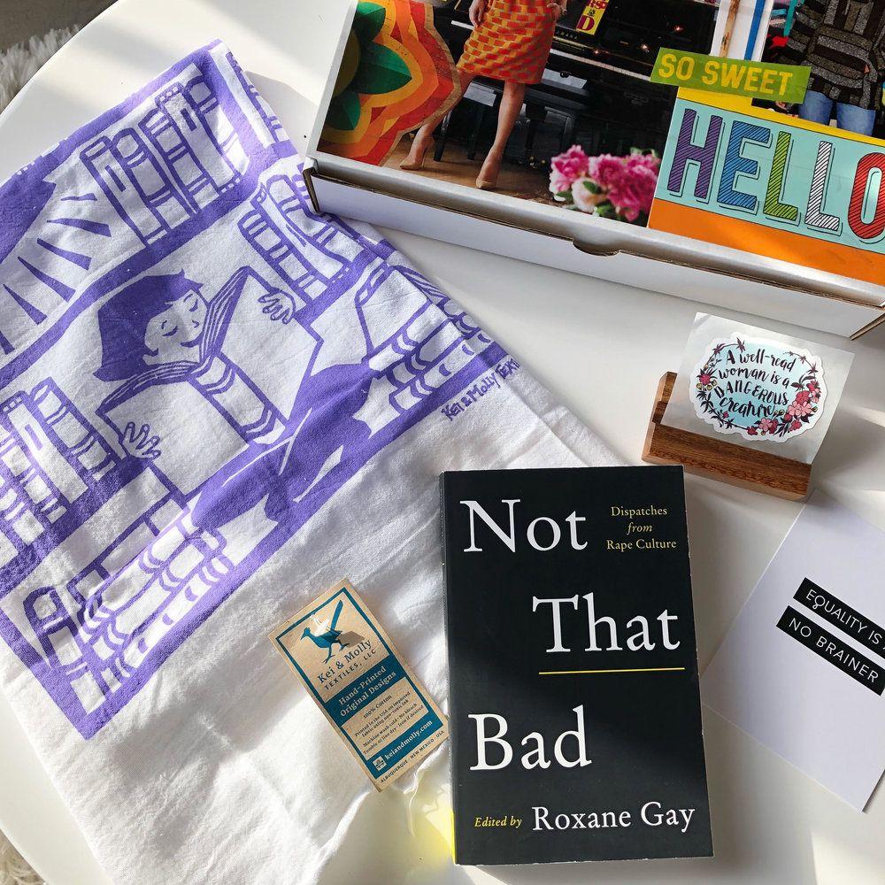 Feminist book club a communitydriven subscription box