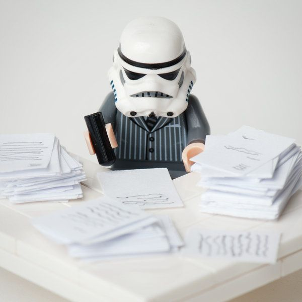 I love this guy. Office-trooper!