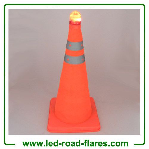 Pin On Rechargeable Traffic Cone