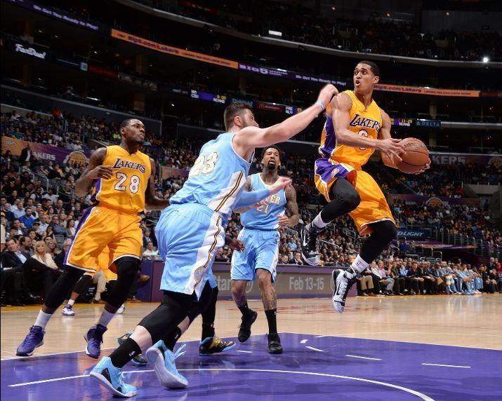 Denver Nuggets Vs Los Angeles Lakers Photos February 10 2015 Espn Denver Nuggets Los Angeles Lakers Lakers