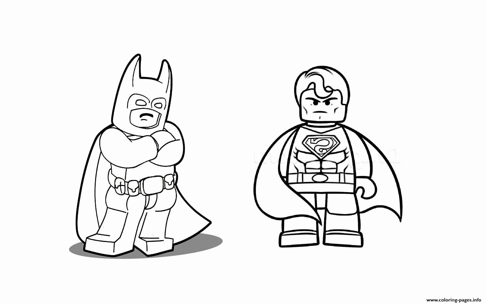 Batman Vs Superman Coloring Pages Printable Lovely Batman ...