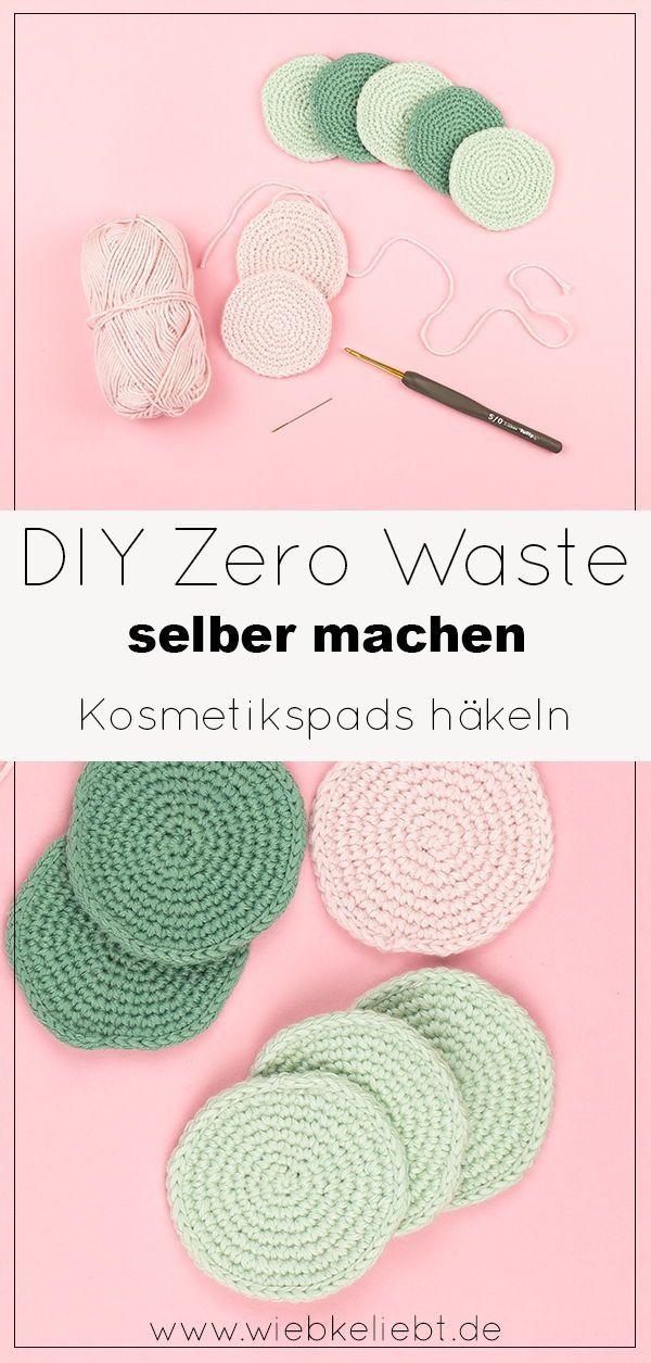 DIY Zero Waste Wattepads selber machen | DIY Blog | Do-it-yourself Anleitungen zum Selbermachen | Wi