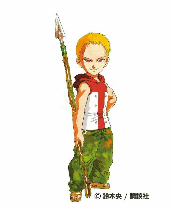 Lancelot Ban Jr. em 2020   Anime, Nanatsu, Desenho