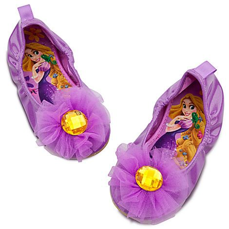 Ballet Flat Rapunzel Shoes for Girls   Shoes & Socks   Disney Store