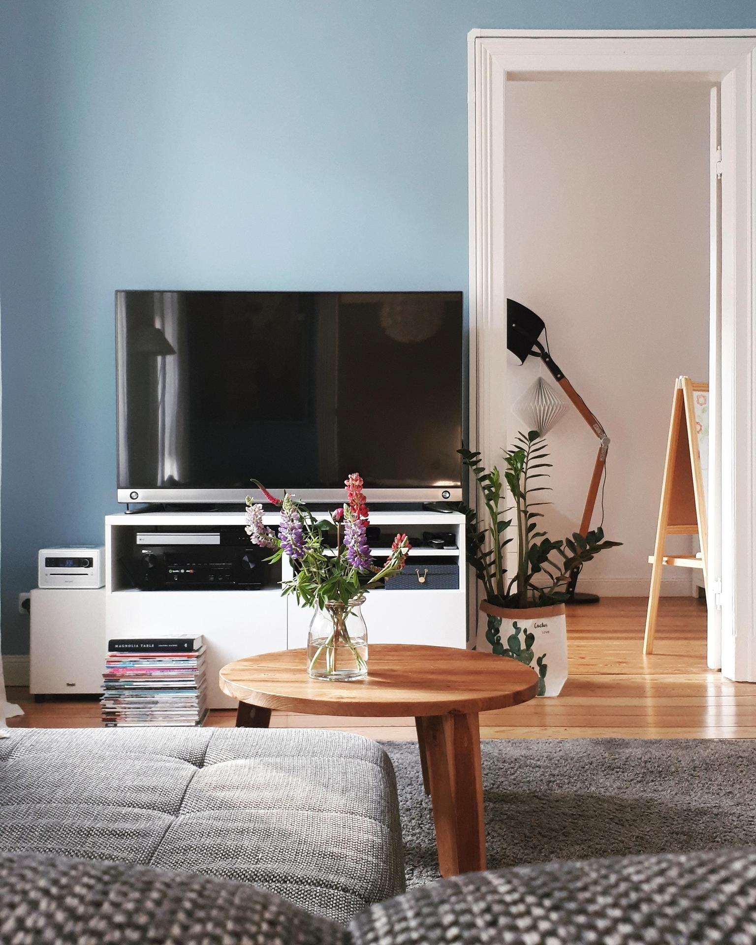 Wandfarbe Taubenblau: Eine Unserer Wandfarben-Favoriten Ist Dieses Jahr Ganz
