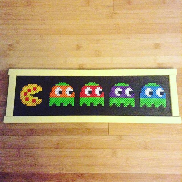 TMNT PacMan perler beads by caseylcarr