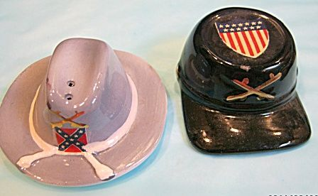 CIVIL WAR HATS  - NORTH & SOUTH - SALT & PEPPERS