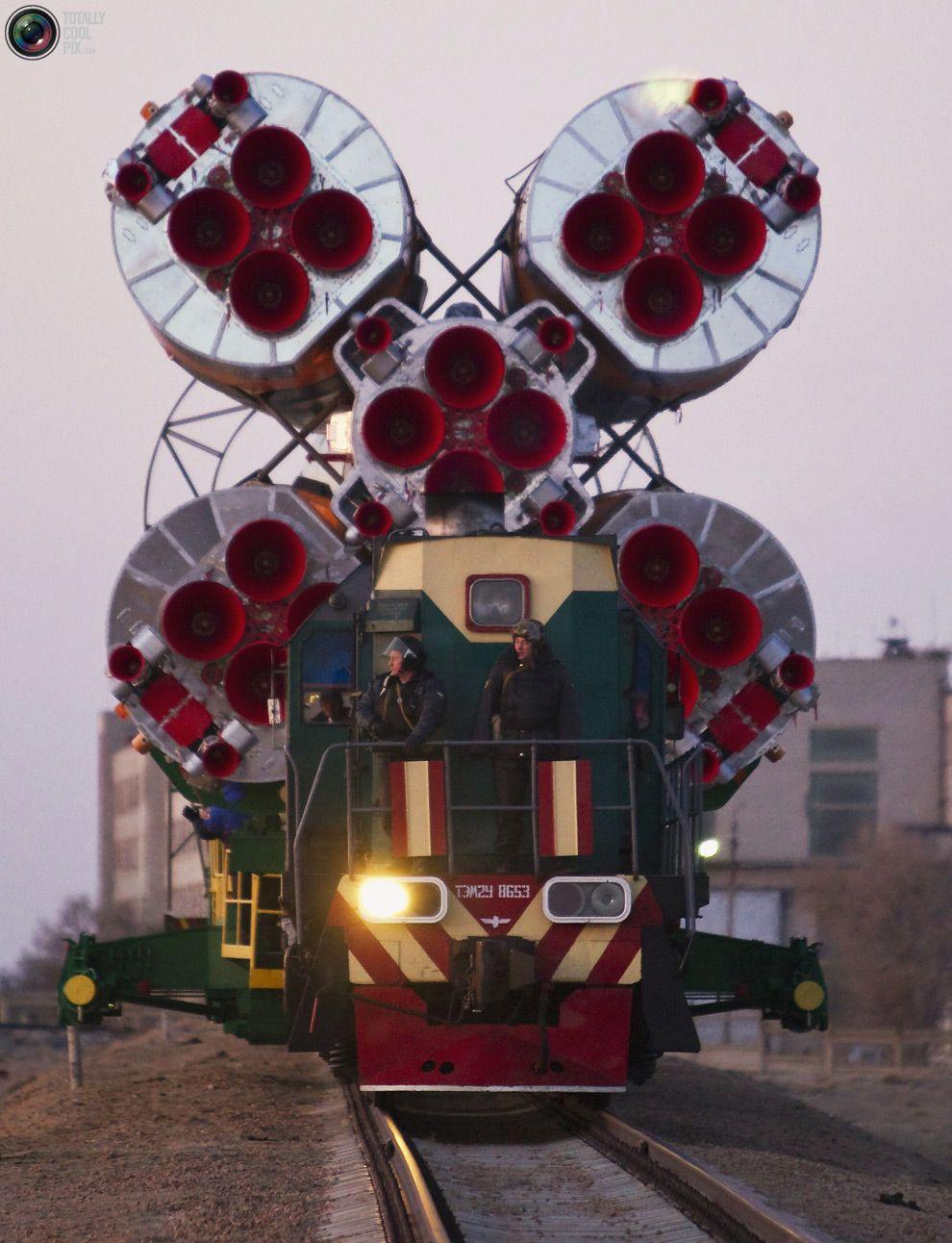 Soyuz TMA-22 Spacecraft Lauch