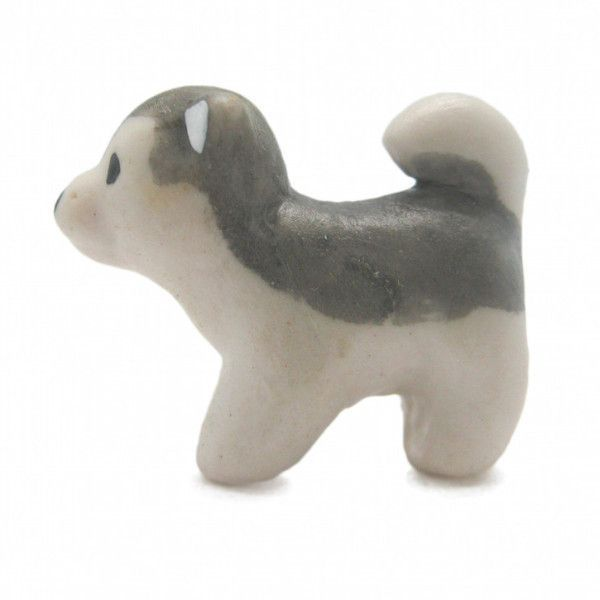 Little Husky Dog Collectible Miniature Animal #miniaturehusky This poly resin miniature husky will be a charming additon to your collection. - Approximate Dimensions (Length x Width x Height): 0.75x1x0.5 - Material Type: Polyresin #miniaturehusky Little Husky Dog Collectible Miniature Animal #miniaturehusky This poly resin miniature husky will be a charming additon to your collection. - Approximate Dimensions (Length x Width x Height): 0.75x1x0.5 - Material Type: Polyresin #miniaturehusky