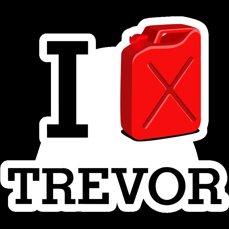 Gta 5 I Love Trevor Trevor Stickers Gta
