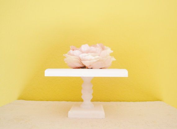 Custom Tall Square Cupcake Stand / Cake Stand 8 inch