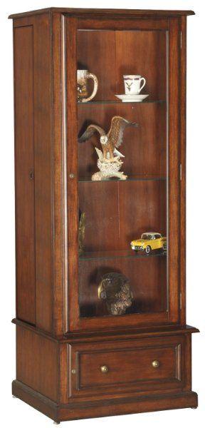 American Furniture Classics 10 Gun Curio/slider Cabinet - 610:Amazon:Home Improvement