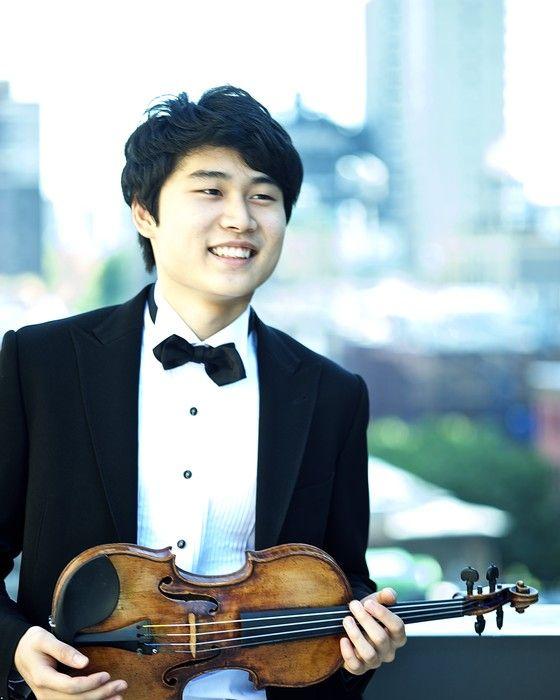 O jovem violinista In Mo Yang, de apenas 20 anos,  já tem um prêmio Paganini no currículo (Foto: Divulgação)