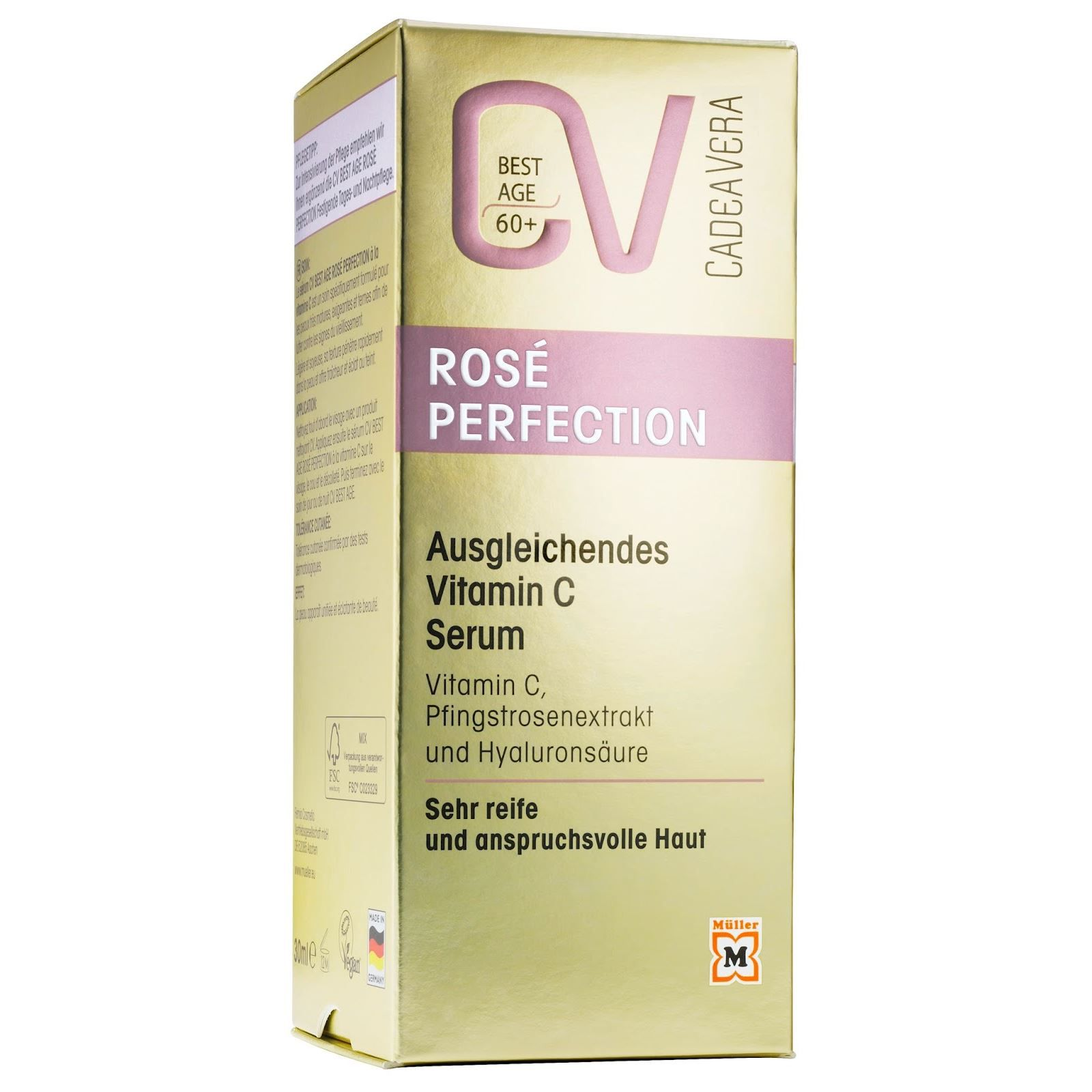CV Cadea Vera Rosé Perfection C Vitamin Szérum