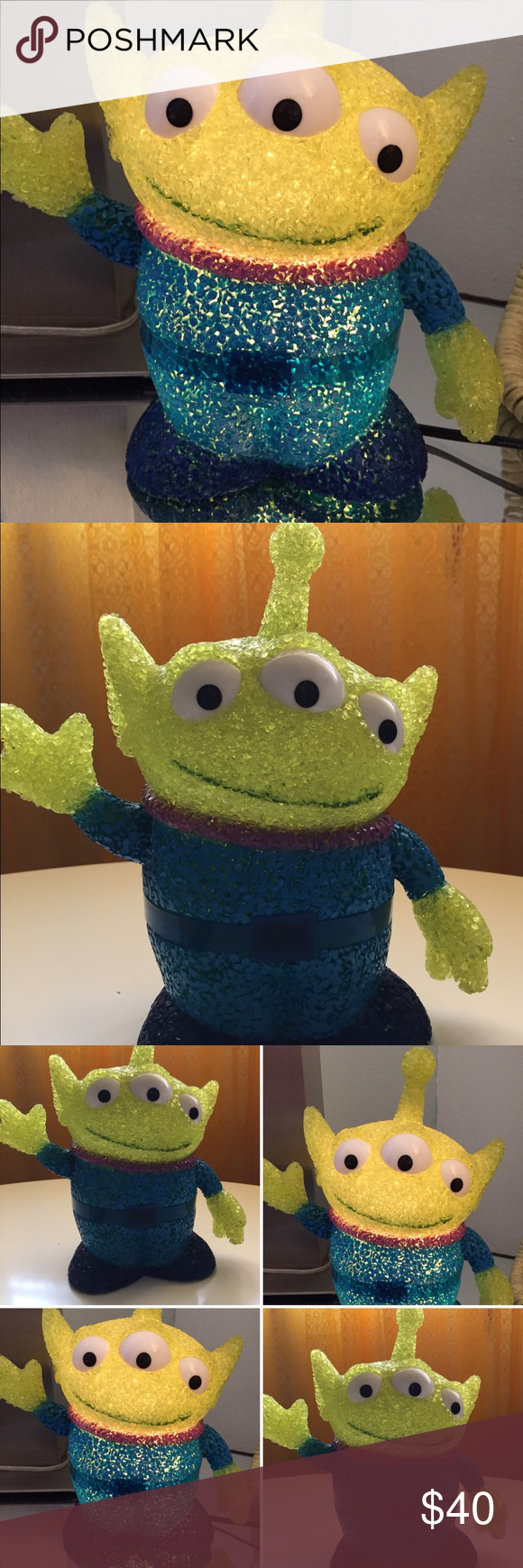 Disney S Pixar Toy Story Alien Lamp For Kids Used In Excellent Condition Disney Other Pixar Toys Toy Story Alien Disney S