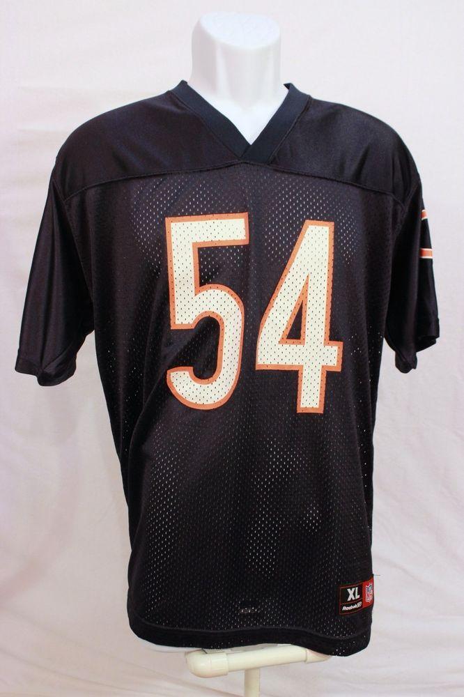 5a5937d0 Details about Brian Urlacher Youth Jersey Sz XL NFL TEAM APPAREL ...