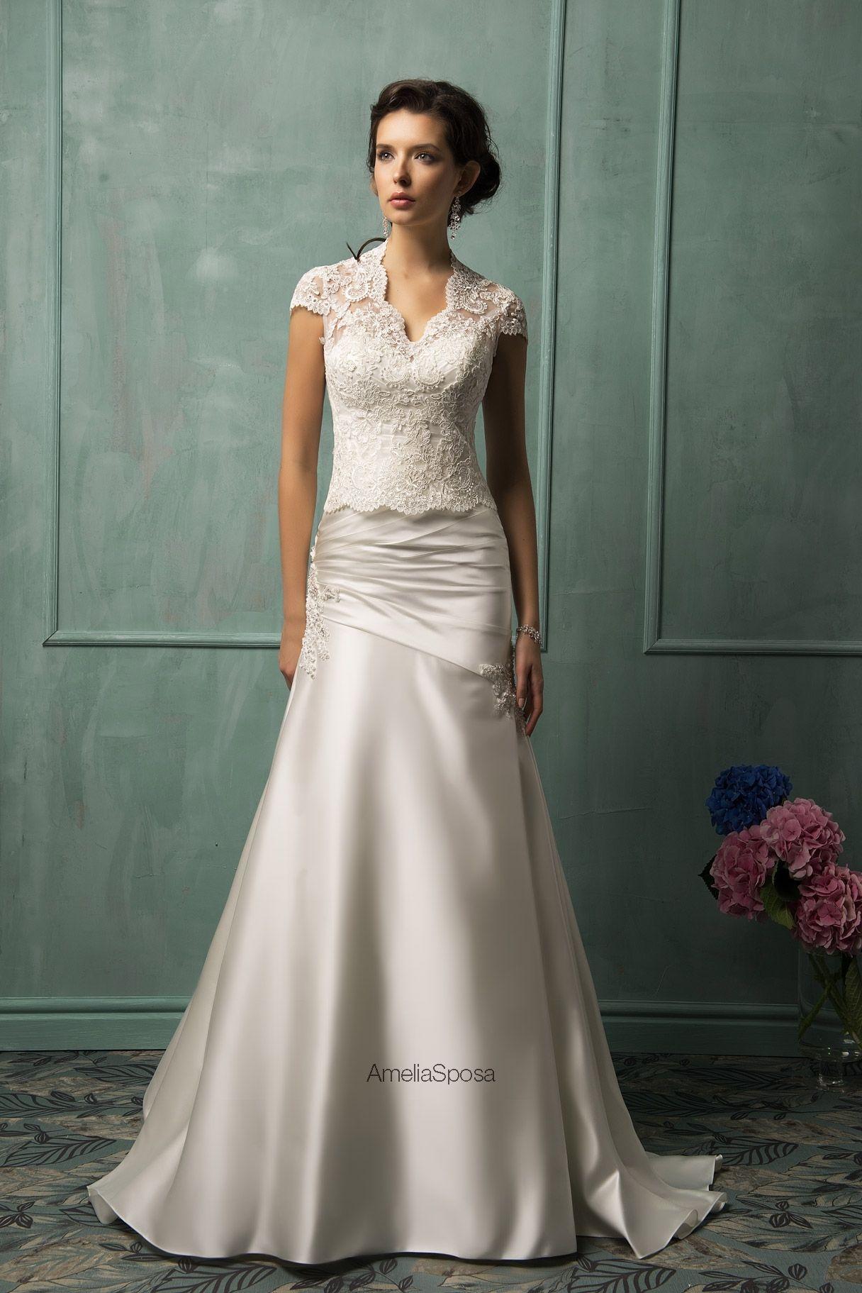 Wedding dress velia ameliasposa pinterest amelia sposa