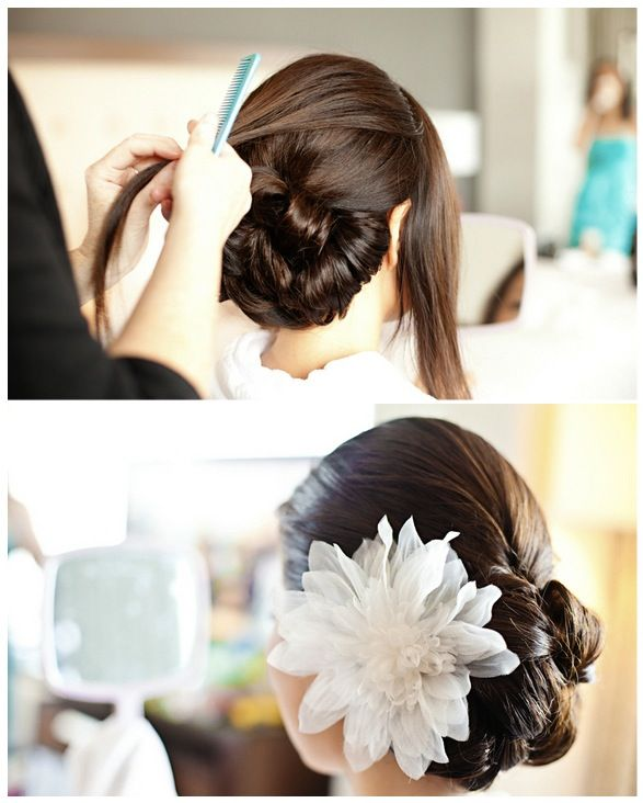 Diana Kim wedding haristyle! - for more gerat inspirations visit us at Bride's Book http://www.brides-book.com