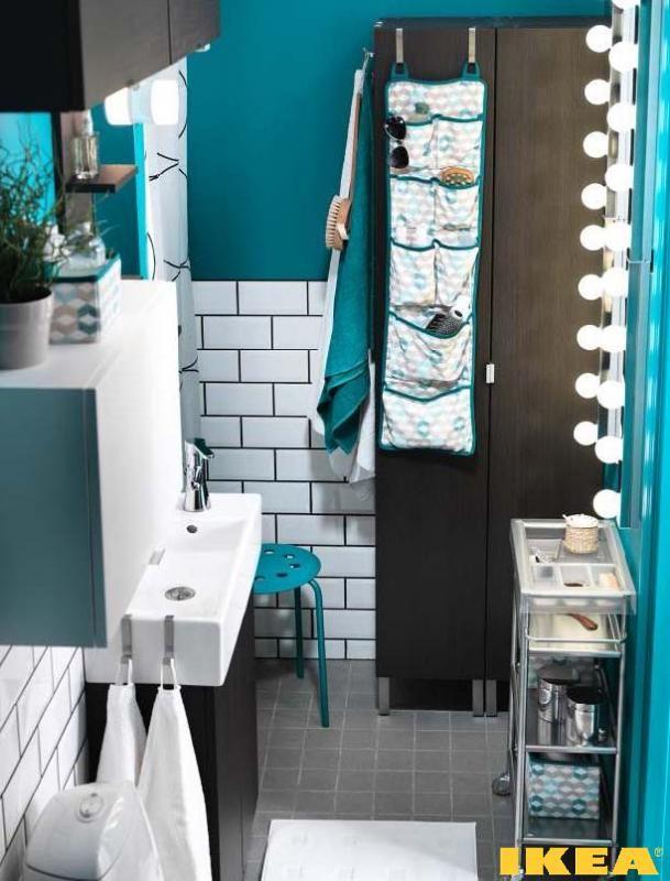 Interior small bathroom 3 square meter