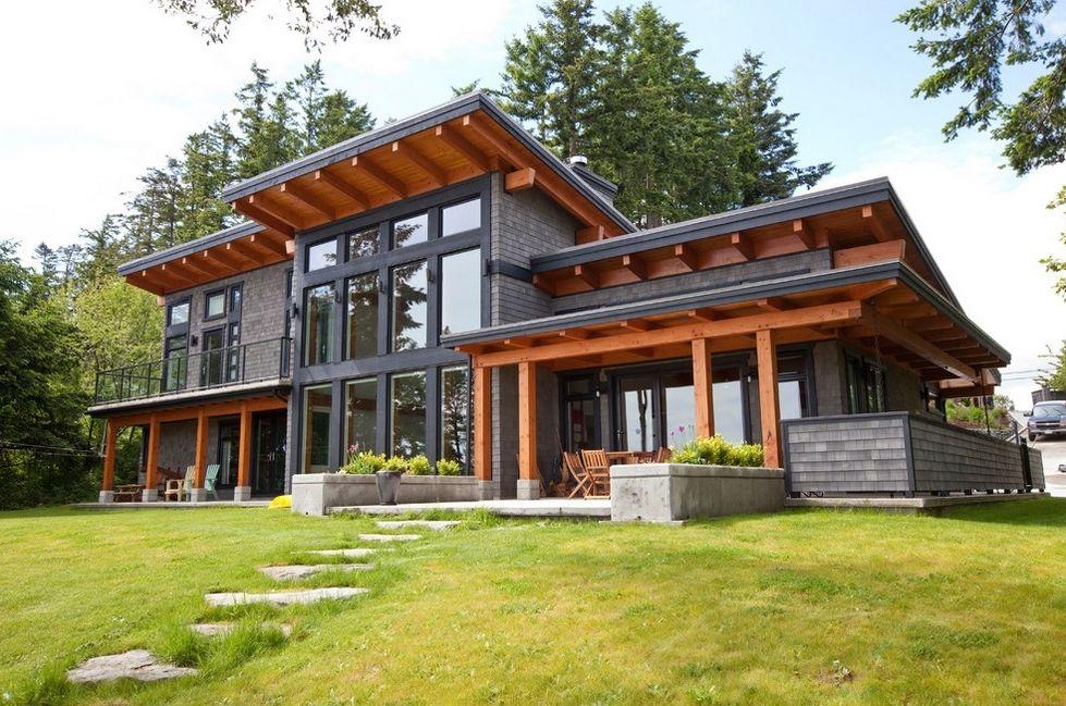 Modern Cottage Basement House Plans Modern House Design Steel