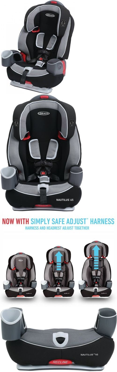 Graco Nautilus 65 3 In 1 Harness Booster Car Seat Track Best Brand Selling New