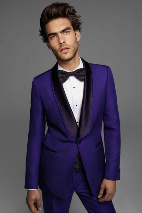 Wedding Trends: Colored Suits | Black tuxedos, Grooms and Favors