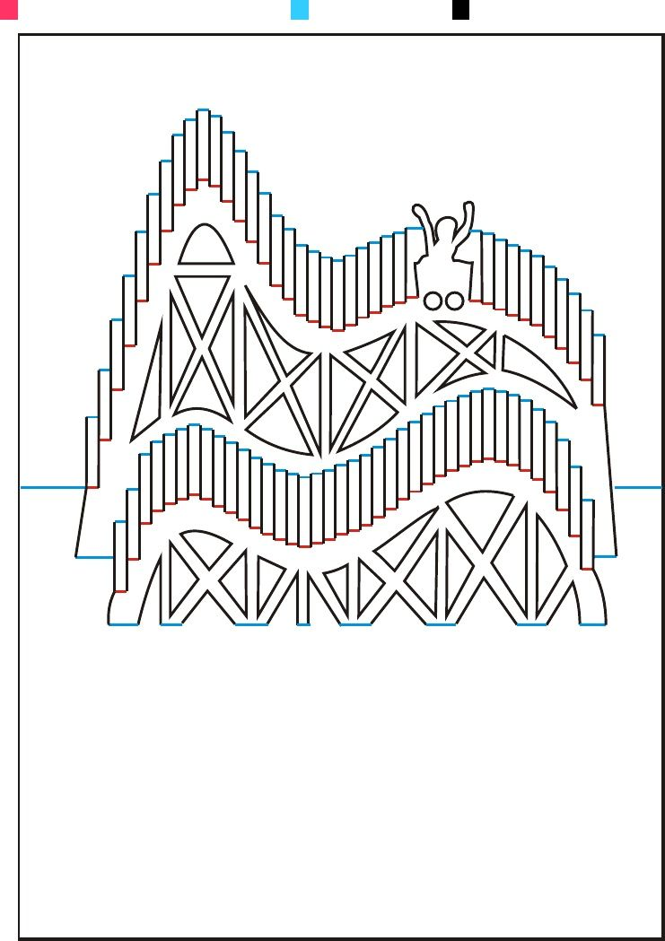 Advanced Patterns Origamic Architecture Vol 1 Pop Up Card Templates Kirigami Patterns Pop Up Cards
