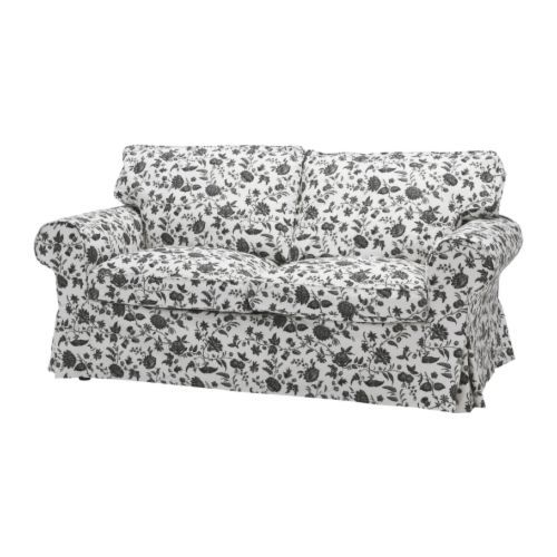 EKTORP Two Seat Sofa IKEA Easy To Keep Clean; Removable, Machine Washable  Cover