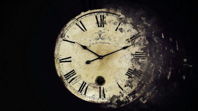 Alte Uhr.