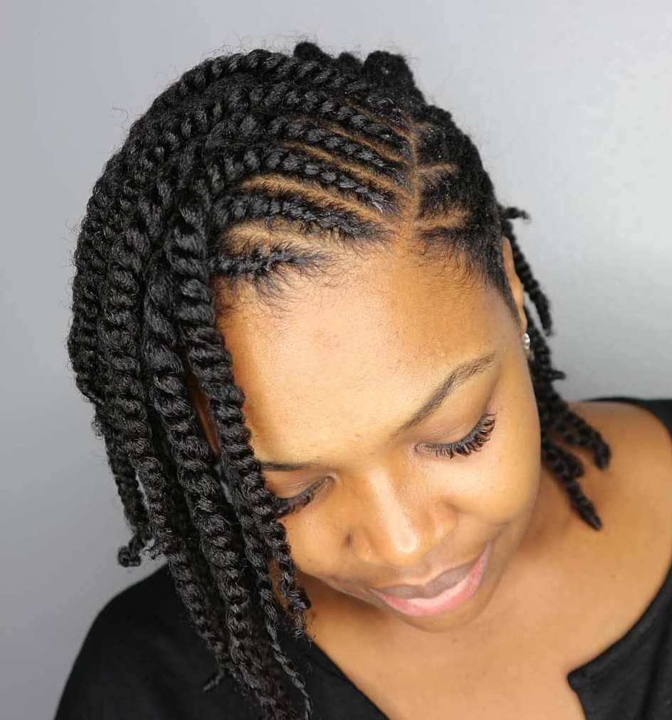 Cornrows Hair Style For