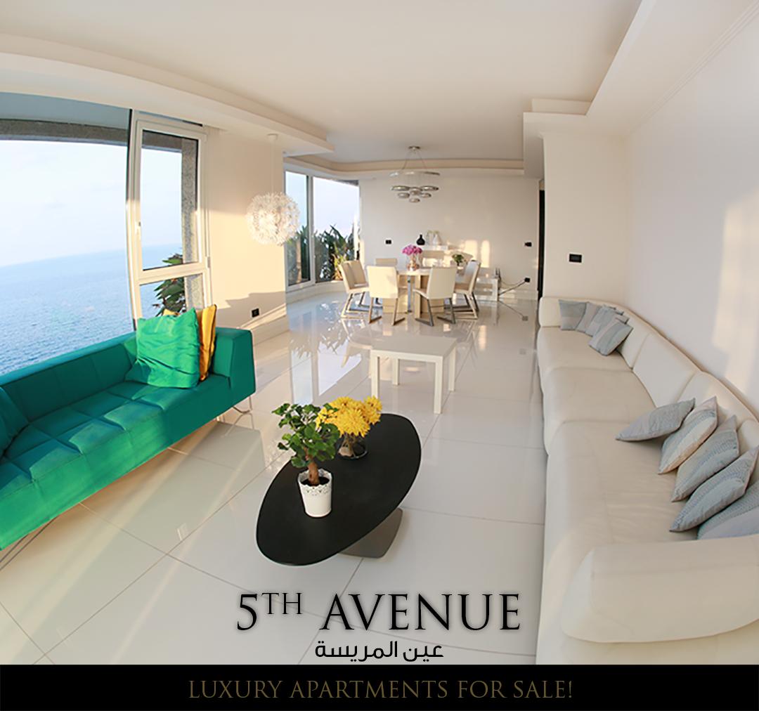 5th Avenue Luxury Apartments For Sale In Ain Al Mrayse شقق فخمة للبيع في عين المريسة 300م مطل ة على البحر جميع الواجهات غر Bean Bag Chair Home Decor House