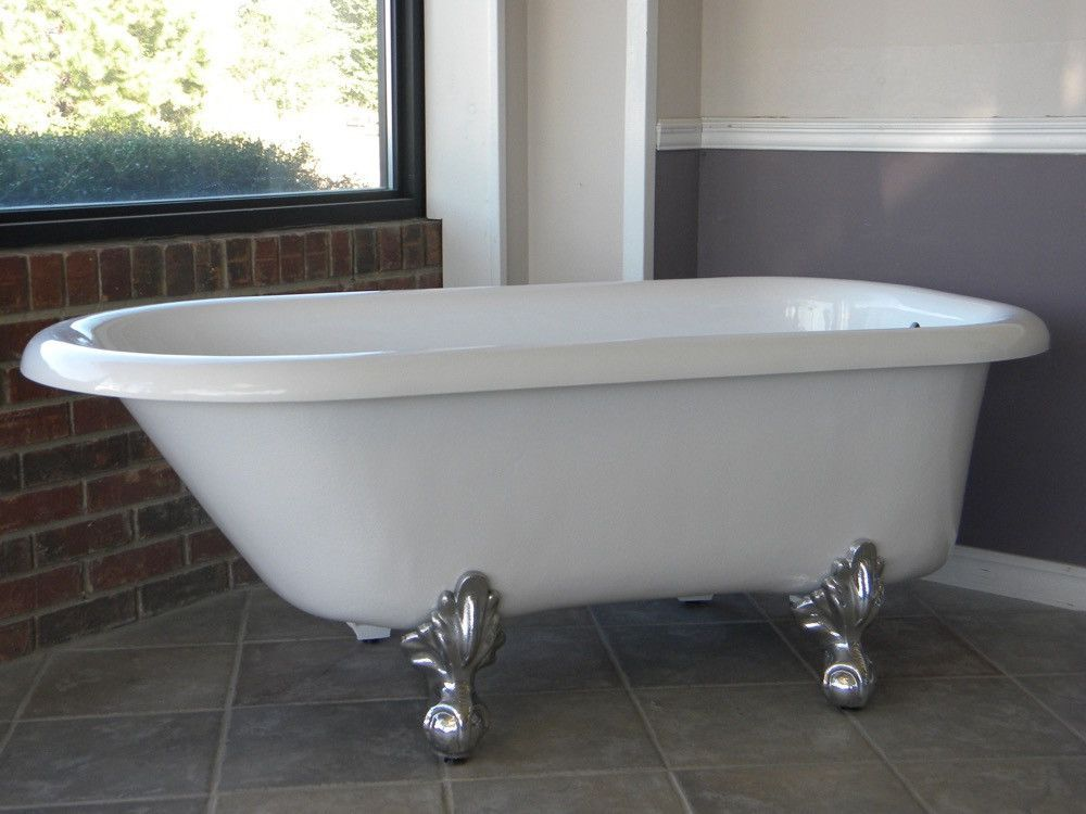 Learn More This Antique Style Bathtub Will Delight With Its
