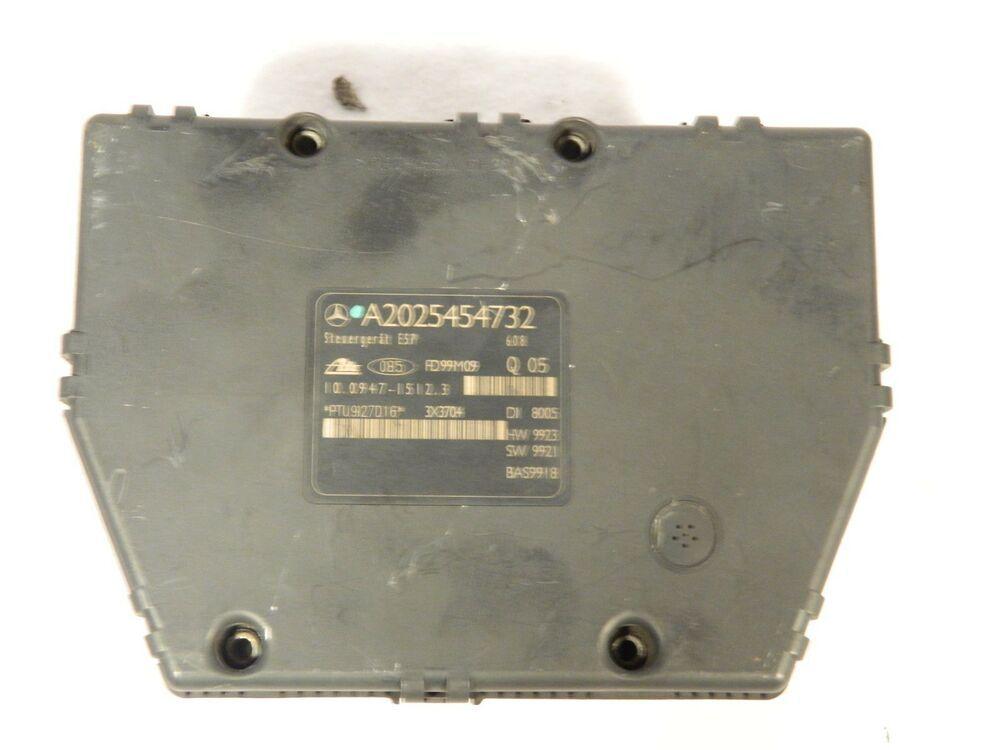 1999 2000 2001 Mercedes C230 C240 Abs A2025454732 Anti Brake