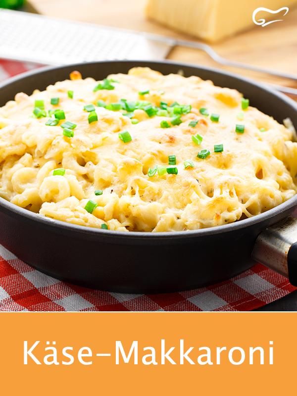 Da schmilzt nicht nur der Käse dahin: Dieses Rezept für Käse-Makkaroni lässt…
