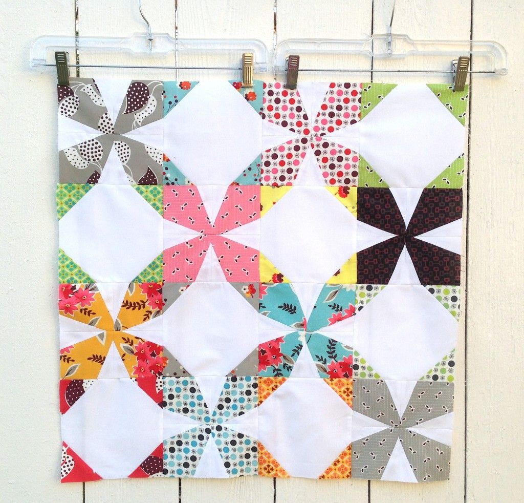 Wanta Fanta Block by Better Off Thread for the Bee Hive Series   Blossom Heart Quilts