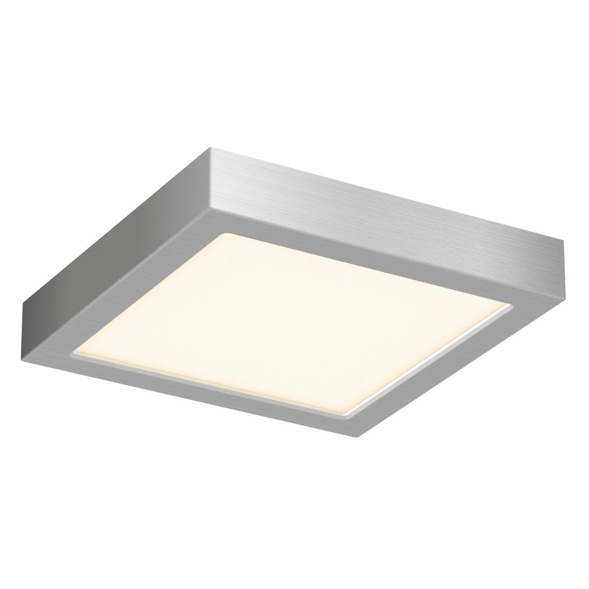 Cfledsq Square Ceiling Light Fixture By Dals Lighting Cfledsq06 Sn In 2020 Flush Mount Ceiling Lights Led Flush Mount Ceiling Lights