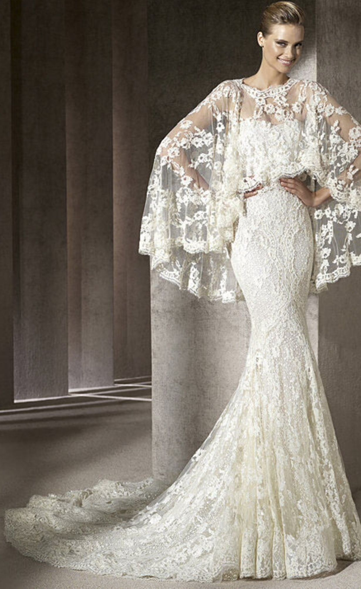 And God Created Woman Elie Saab 2014 Collection White Lace Bridal Gown Wedding Dresses Bridal Dresses Wedding Dress 2013