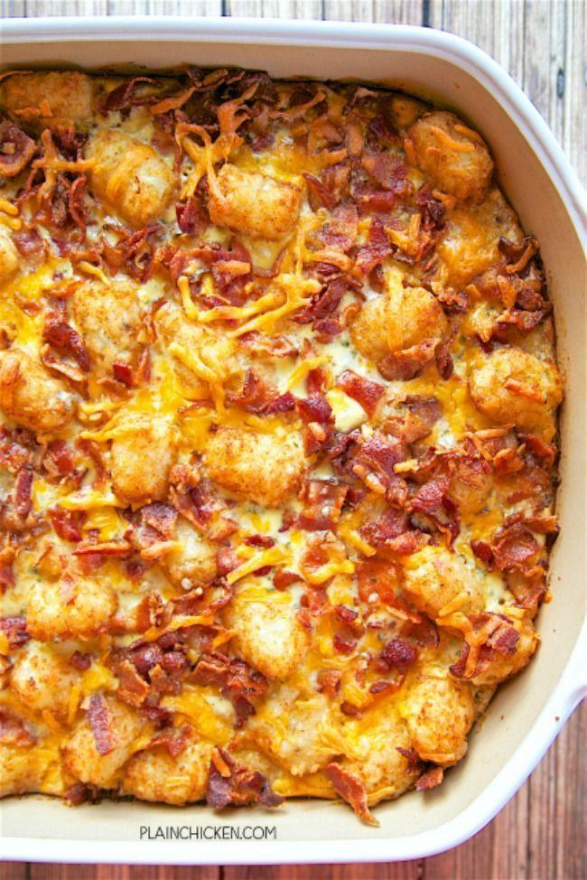 The 11 Best Breakfast Casserole Recipes The Eleven Best Best Breakfast Casserole Breakfast Recipes Casserole Tater Tot Breakfast